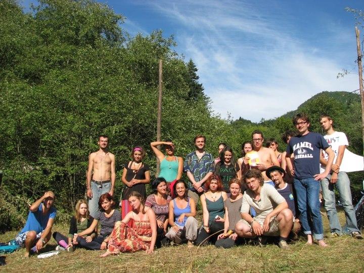 Transylvania Calling - primul grup de Respiratie Holotropica